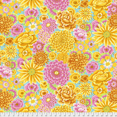 Free Spirit Kaffe Fassett PWGP 172 Yellow - Green By The Yard