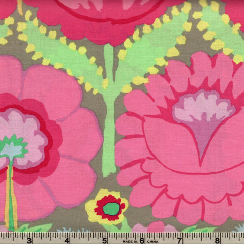 Free Spirit Kaffe Fassett Artisan PWKF001 Pink Embroid Flower Border By The Yard