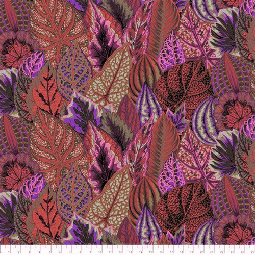 Free Spirit Kaffe Fassett Collective PWPJ030 DarkX Coleus By The Yard