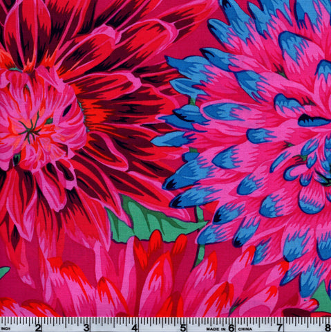 Rowan Kaffe Fassett PWPJ054 Multi-color Dahlias By The Yard