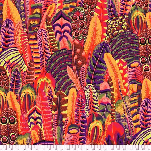 Free Spirit Kaffe Fassett Collective Philip Jacobs PWPJ055 Summer Feathers By The Yard