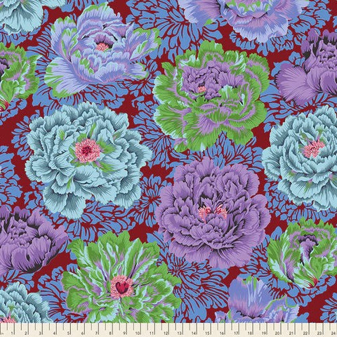 Free Spirit Kaffe Fassett Collective PWPJ062 Cool Brocade Peony By The Yard