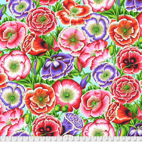 Free Spirit Fabrics Kaffe Fassett Collective PWPJ095 Pink Poppy Garden By The Yard