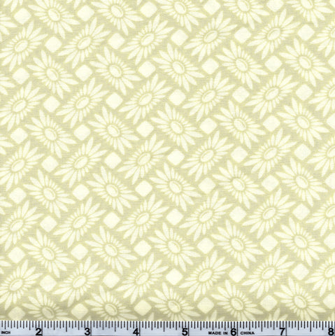 Free Spirit Heather Bailey PWTC013 Green Floral Grid By The Yard