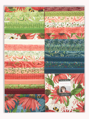 "Moda Pre-Cut 42 Piece 10"" Square Layer Cake - Painted Meadow"