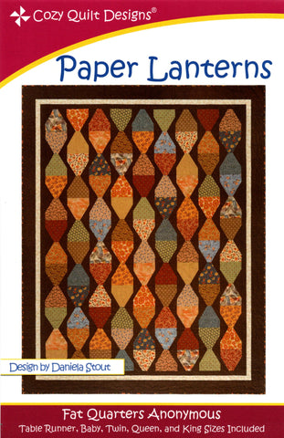 PAPER LANTERNS - Cozy Quilt Designs Pattern