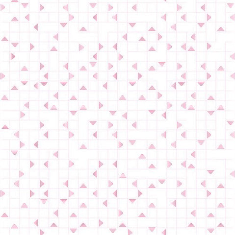 RJR Neutrals VF101 RE1 Pink Pyramid Maze By The Yard