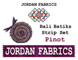 "Bali Batik 40 Piece 2 1/2"" Strip Set - Pinot"