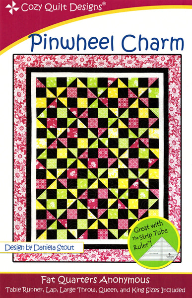 PINWHEEL CHARM - Cozy Quilt Designs Pattern