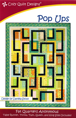 POP UPS - Cozy Quilt Designs Pattern