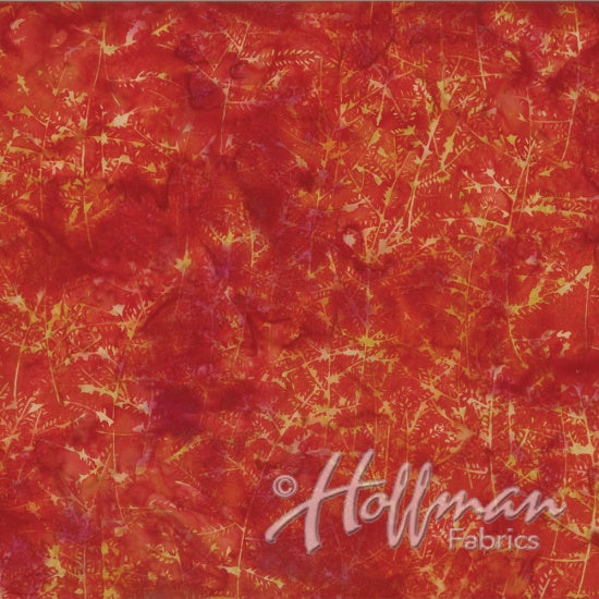Hoffman Bali Batiks 2131 67 Branches On Flame By The Yard