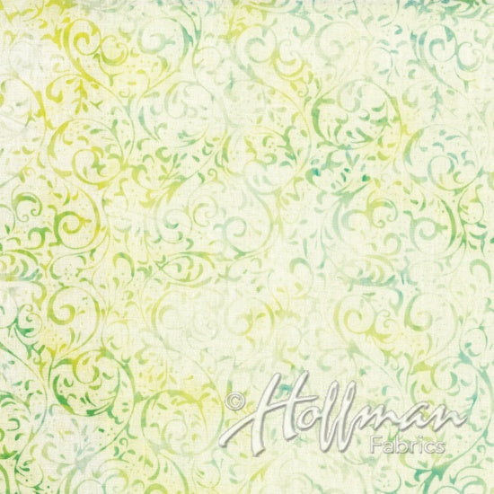 Hoffman Bali Batiks 2134 580  Cypress Swirls By The Yard