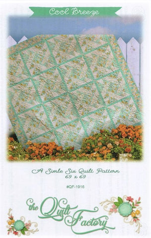 COOL BREEZE - The Quilt Factory Pattern QF-1916 DIGITAL DOWNLOAD