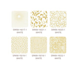 "Kaufman Metallic Pre-Cuts 42 Piece - 5"" Charm Squares 843 42 - Whisper Metallics Gold"