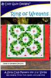 RING OF WREATHS - Cozy Quilt Designs Pattern