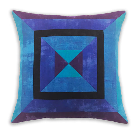 Radiance Pre-cut Pillow Cover Kit - Peacock (Shipping 1/15/18)