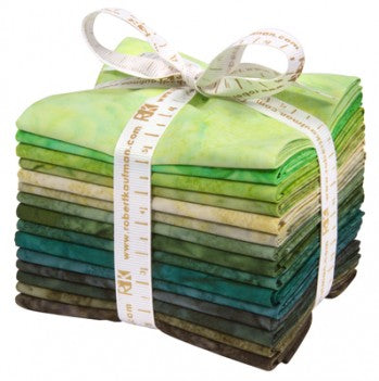 Kaufman Artisan Batiks Pre-Cuts 15 Fat Quarters 832 15 - Rainforest