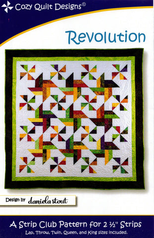 REVOLUTION - Cozy Quilt Designs Pattern
