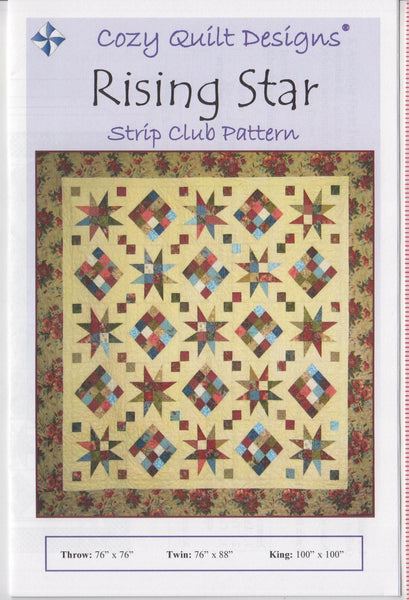RISING STAR - Cozy Quilt Designs Pattern