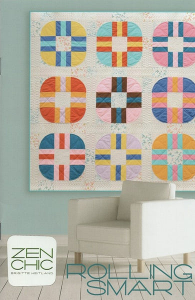 Zen Chic Quilt Pattern - ROLLING SMART