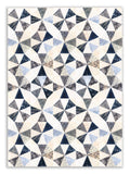 Bali Batik PRE-CUT Roundabout Quilt Kit - Borders Included! - Clear Water