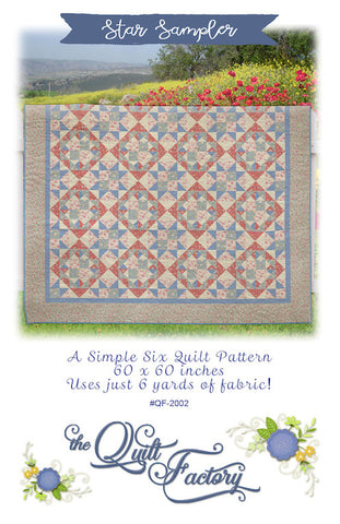 STAR SAMPLER - Quilt Pattern QF-2002 By The Quilt Factory