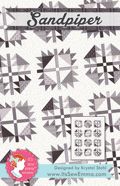 SANDPIPER - It's Sew Emma Quilt Pattern