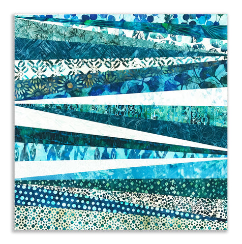 "Bali Batik 20 Piece 2 1/2"" Strip Set Jelly Roll - Sapphire"