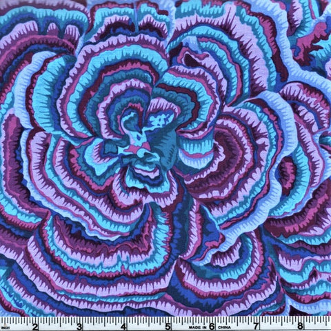 Free Spirit Kaffe Fassett PWPJ082 Lavender Tree Fungi By The Yard