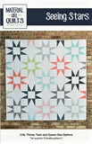 SEEING STARS - Material Girl Quilts Pattern