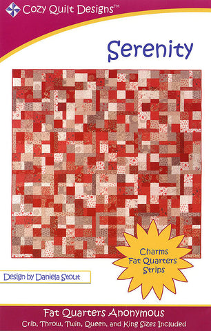 SERENITY - Cozy Quilt Designs Pattern