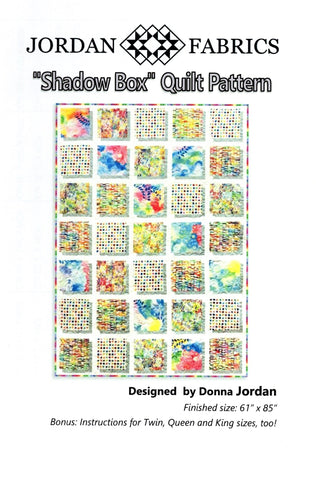 Jordan Fabrics Quilt Pattern - SHADOW BOX