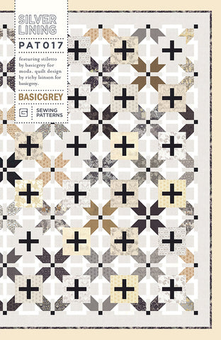 SILVER LINING - BASICGREY Quilt Pattern 017