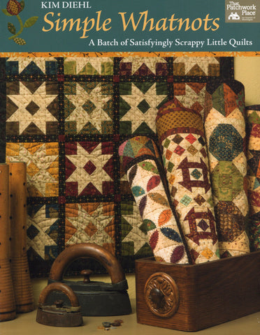 Martingale Pattern Book - Simple Whatnots-A Batch of Satisfyingly Scrappy Little Quilts