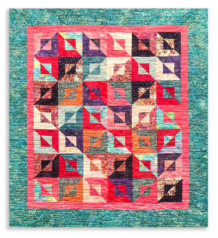 Simplicity II Quilt Kit VIDEO BUNDLE - Bahamas