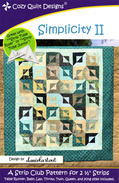 SIMPLICITY II - Cozy Quilt Designs Pattern