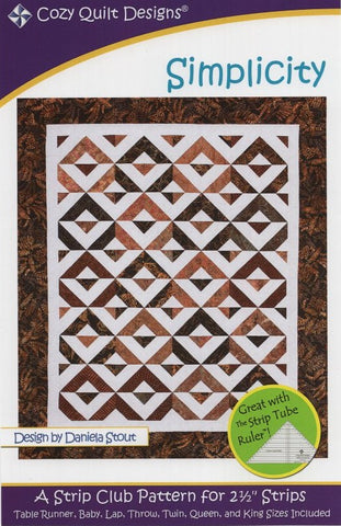 SIMPLICITY - Cozy Quilt Designs Pattern