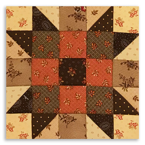 Moda Sister's Choice Pre-cut Table Runner Kit - Hickory Road