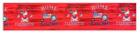 Moda Sister's Choice Pre-cut Table Runner Kit - Land That I Love - Rooster