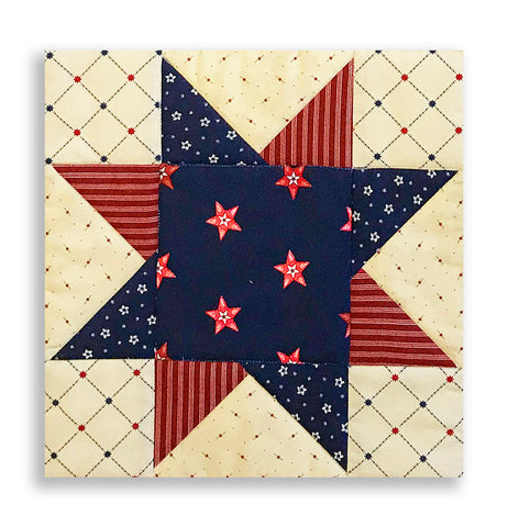 Moda Pre-cut North Star Table Runner Kit - Star & Stripe Gatherings