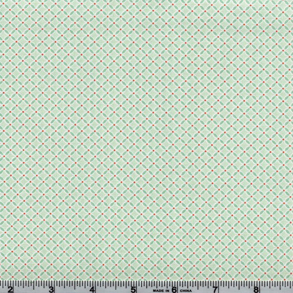 Poppie Cotton Prairie Sisters - Sister's Quilt Mint By The Yard