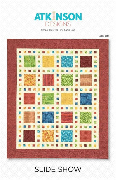 SLIDE SHOW - Quilt Pattern By Atkinson Designs ATK-138