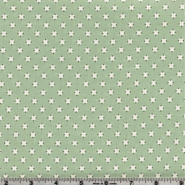 Poppie Cotton Prairie Sisters - Southern Cross Mint By The Yard