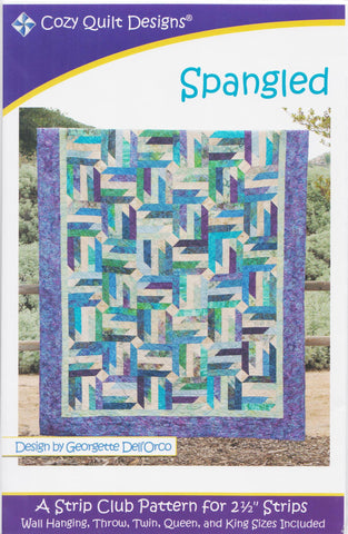 Cozy Quilt Designs Pattern -  SPANGLED