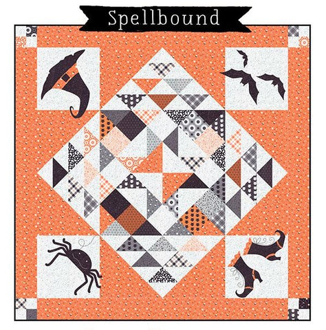 "Spellbound Quilt Bundle with Pre-Cut Moda Midnight Magic 5"" Charms"