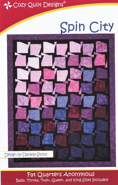 SPIN CITY - Cozy Quilt Designs Pattern