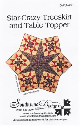 STAR-CRAZY - Quilt Pattern By Southwind Designs SWD-405