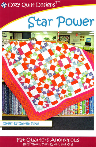 STAR POWER - Cozy Quilt Designs Pattern