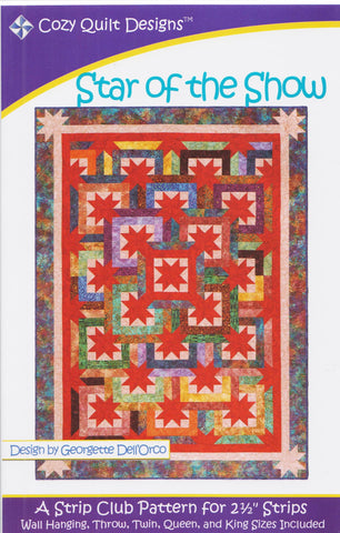 STAR OF THE SHOW - Cozy Quilt Designs Pattern
