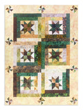 Jordan Fabrics VIDEO BUNDLE Hoffman Bali Batik Quilt Kit - Starry Log Cabin